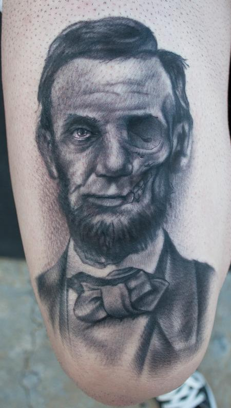 Ryan Mullins - Dead President tattoo